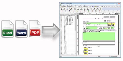 tex pdf word 変換
