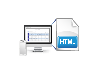 HTML帳票出力